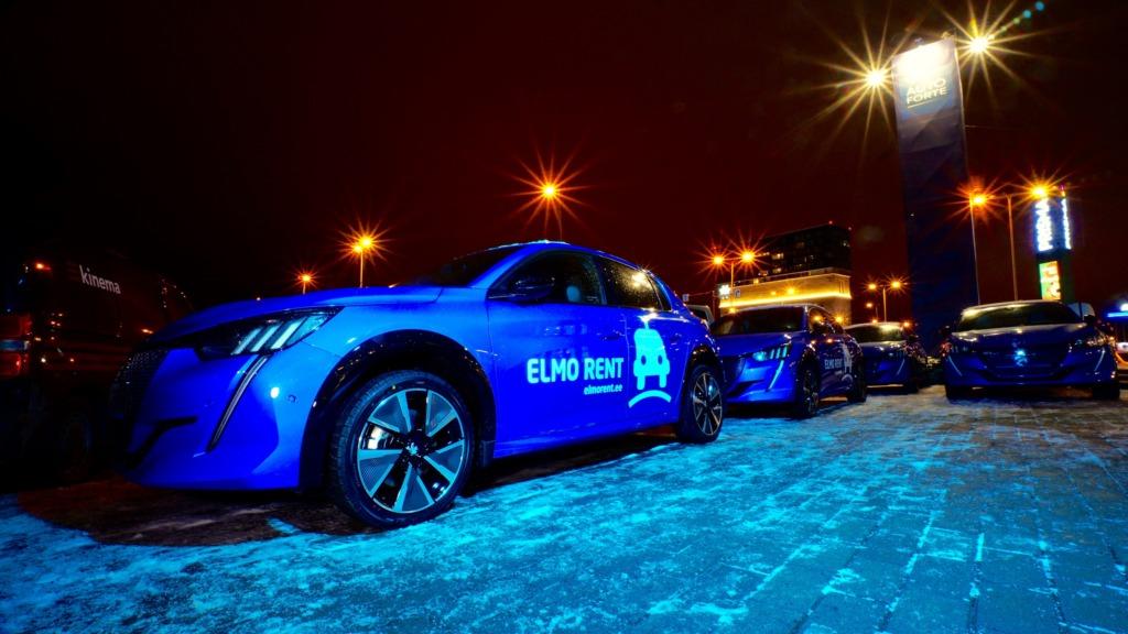 ELMO Rent toob Tallinna ja Tartu tänavatele uued Peugeot' elektriautod