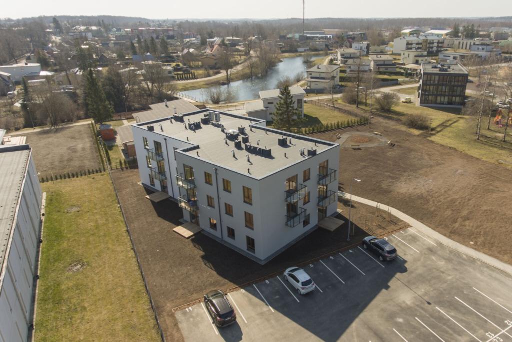 Rakvere Mõisavälja teise maja korterite müük läheb juba palju libedamalt