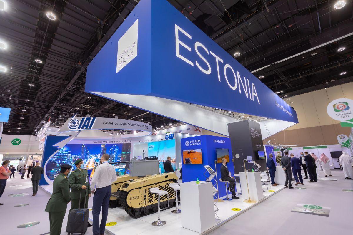 Eesti kaitsetöösturid osalevad ühisstendiga Abu Dhabis messil