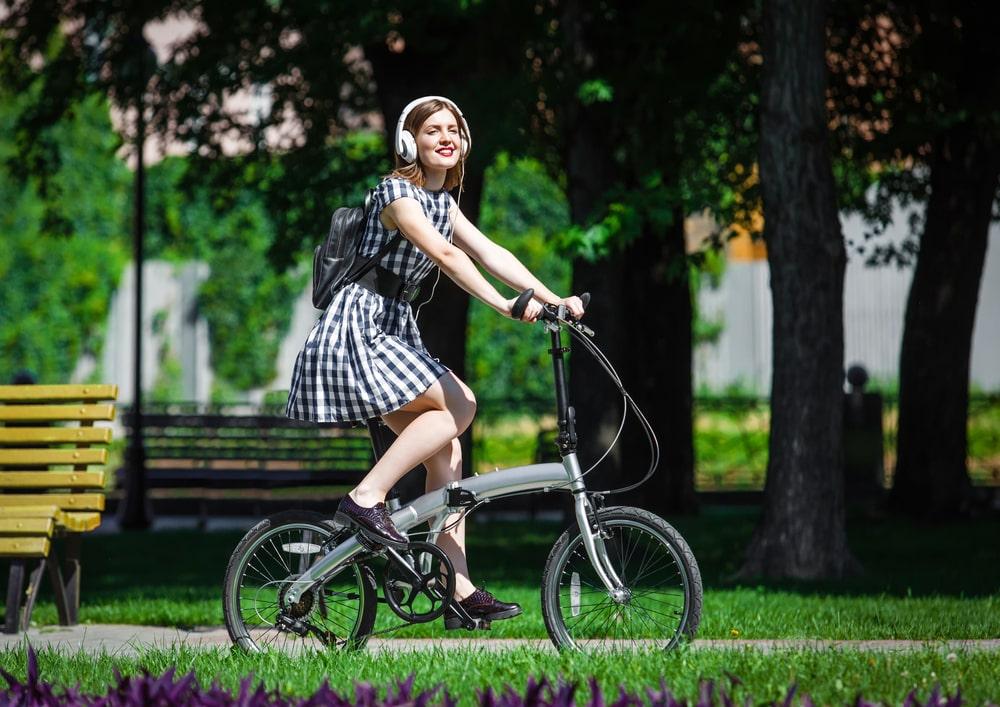 Kokkupandav jalgratas on mugav ja ühtviisi praktiline