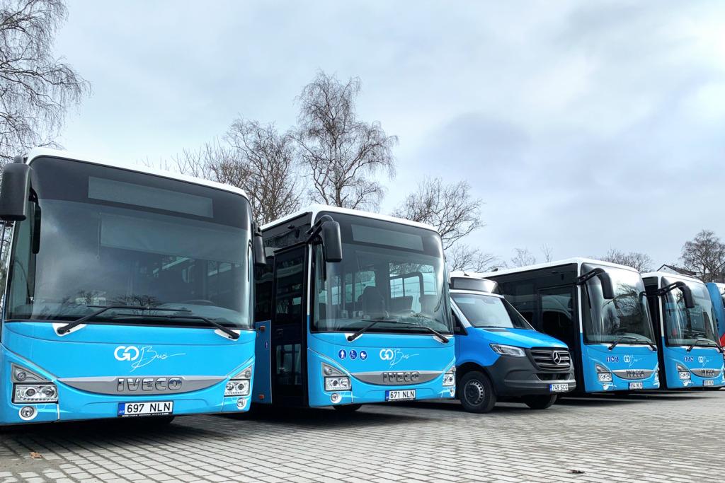 Go Bus toob Harjumaa lõunasuuna bussiliinidele 35 uut bussi