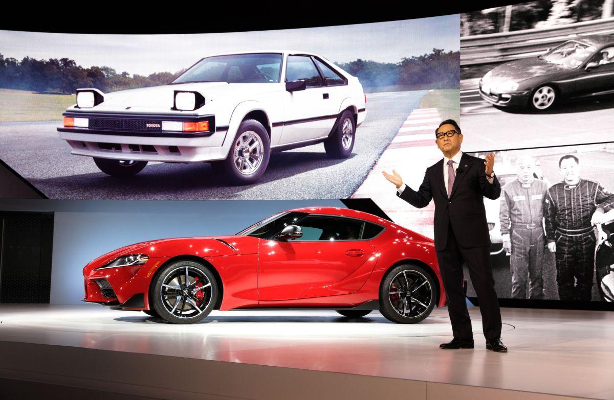 Toyota president Akio Toyoda pälvis aasta autoinimese aunimetuse