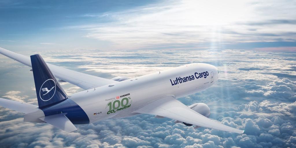 Lufthansa ja DB Schenker