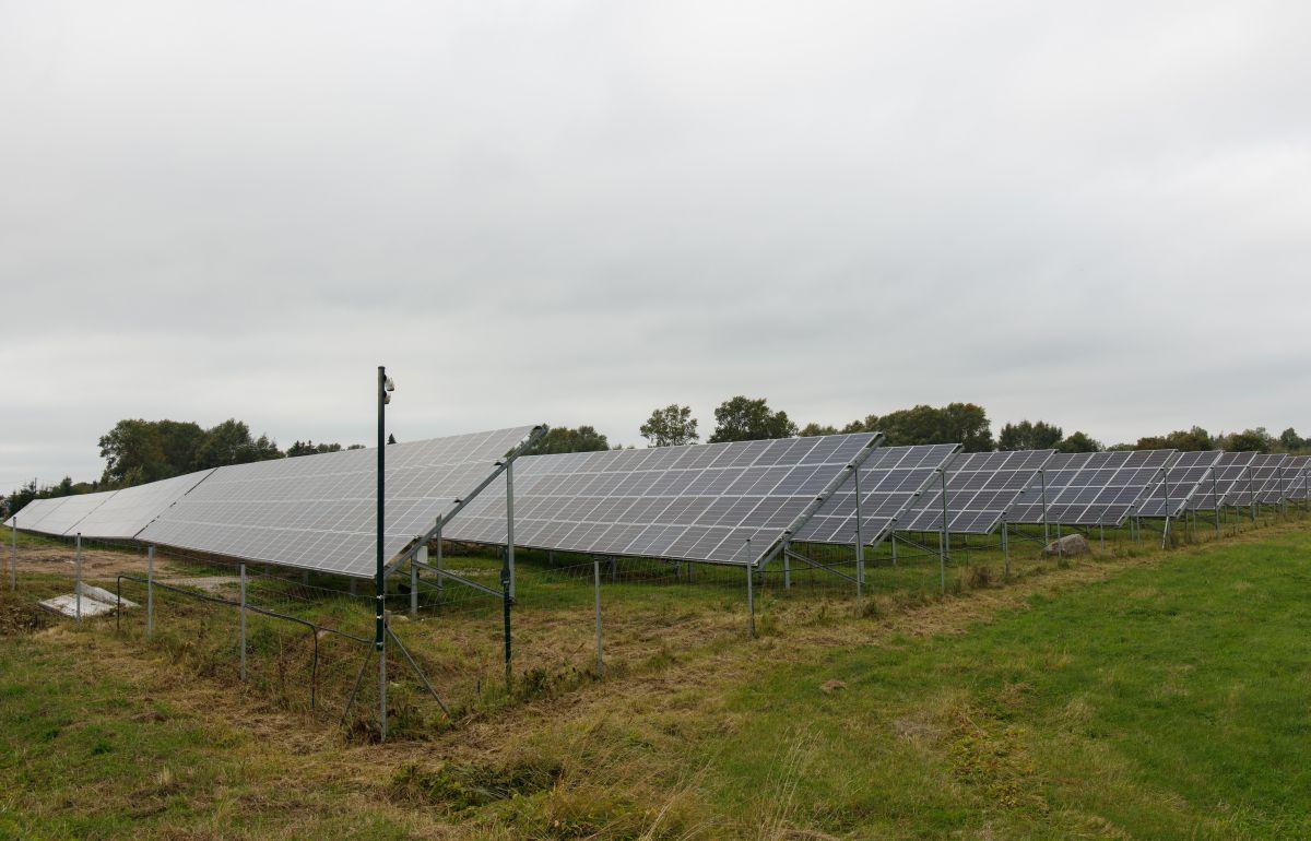 Elektrilevi võrku ühendatud päikesepark