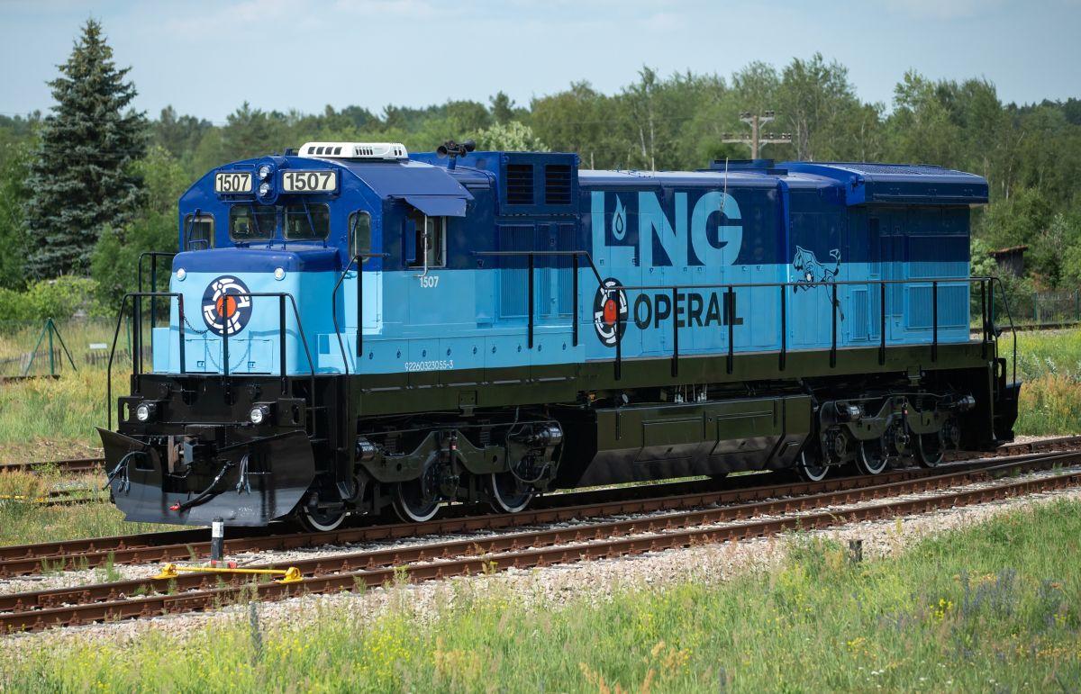 Operail LNG-liinivedur