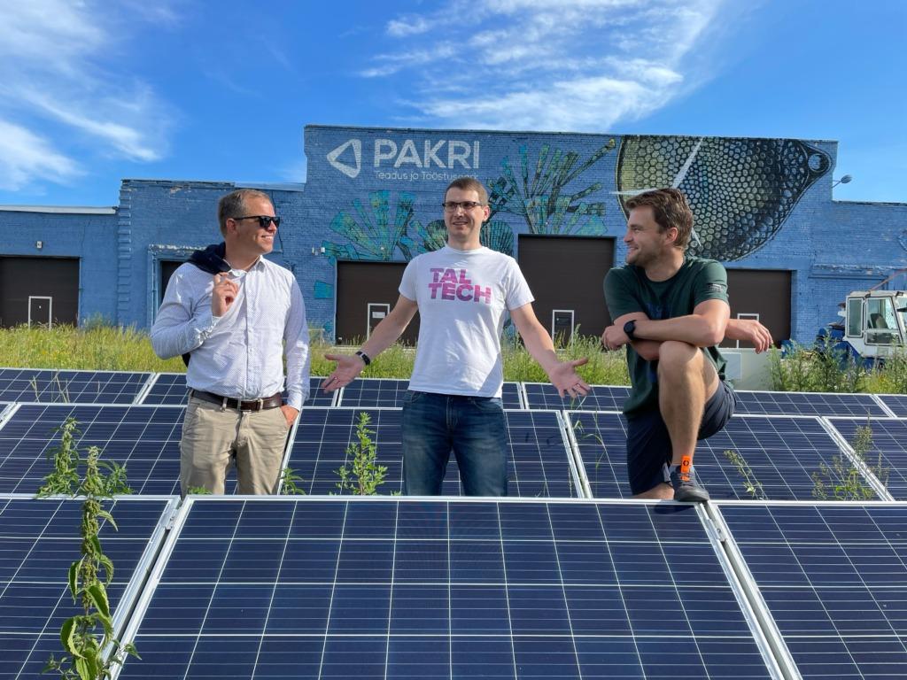 INNOVAATILINE ELEKTRISÜSTEEM I PAKRI Teadus- ja Tööstuspargis hakatakse 1,2 miljoni euro teadusraha abil rajama tuleviku elektrisüsteemi