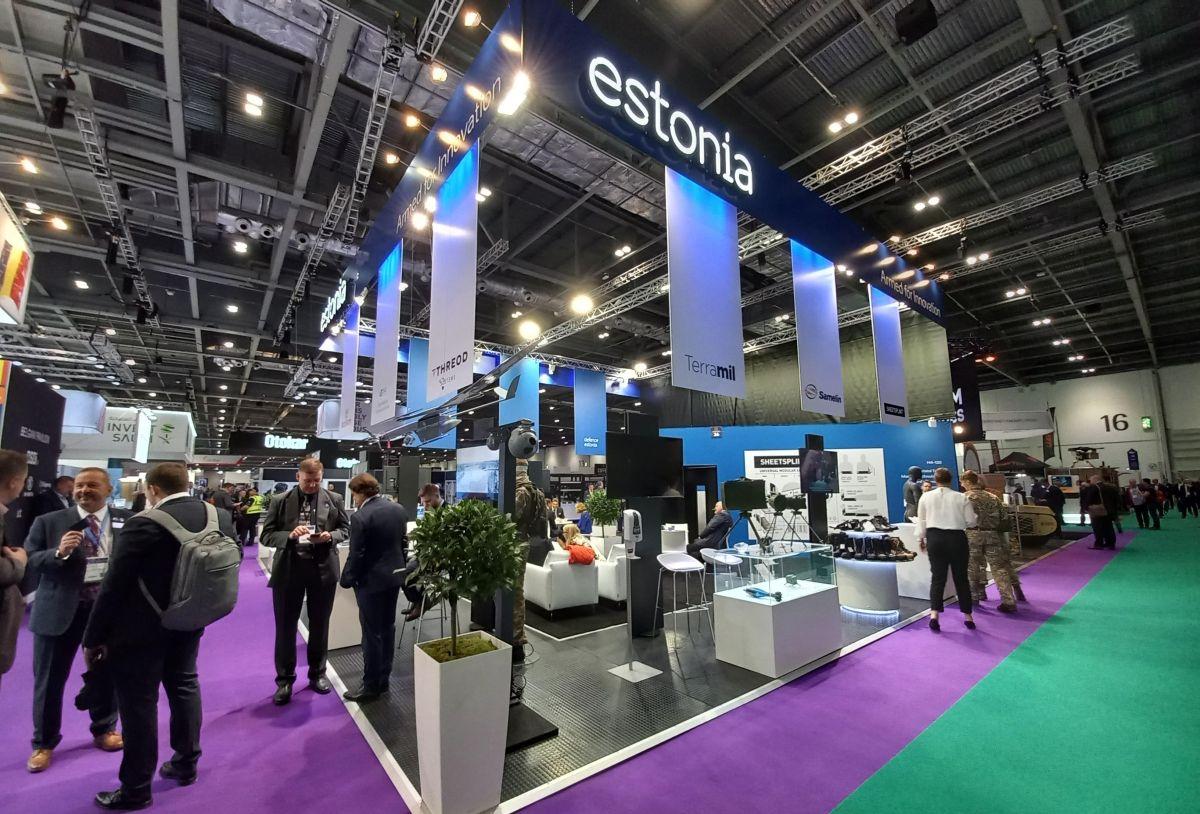 Eesti kaitsevaldkonna ettevõtted osalevad Londonis ärimessil